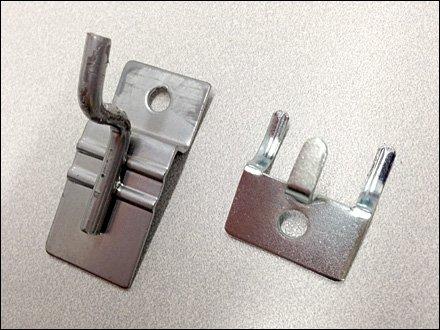 Slatwall Pin-Up vs Pegboard Pin-Up Detail