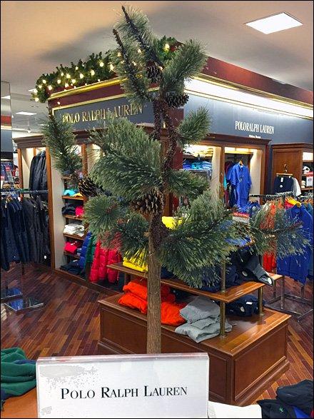 Polo Ralph Lauren Christmas Tree Fixtures Close Up