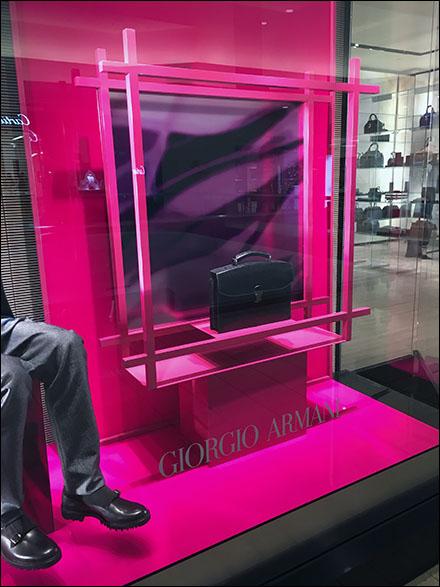 78a6e086d94 Giorgio Armani Briefcase Fluorescence – Fixtures Close Up