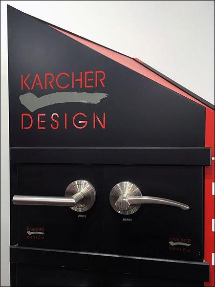 karcher designs hardware display fixtures close up. Black Bedroom Furniture Sets. Home Design Ideas