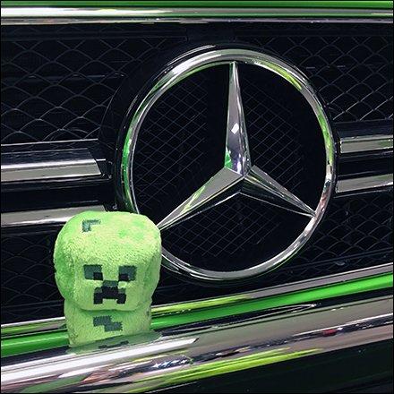 mercedes benz stadium minecraft. Mercedes Benz 2017 Alien Green Plush Stadium Minecraft