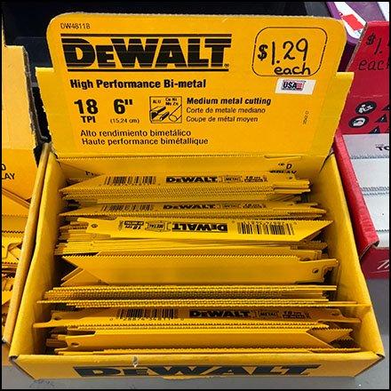 DeWalt Dollar Store Bulk Pack Drill Merchandising – Fixtures