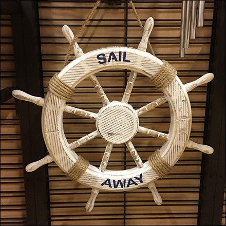 Nautical Tableware Slatwire Endcap Display & Nautical Tableware Slatwire Endcap Display \u2013 Fixtures Close Up