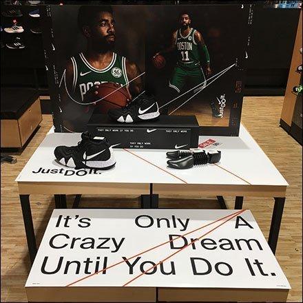 f3b8b8d4b507 Only A Dream Until You Do It Nike Display – Fixtures Close Up