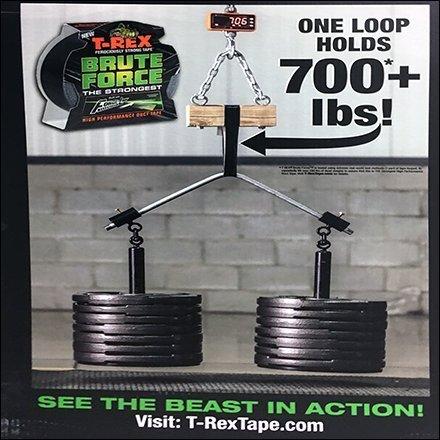 T-Rex Tape Brute Force Merchandising