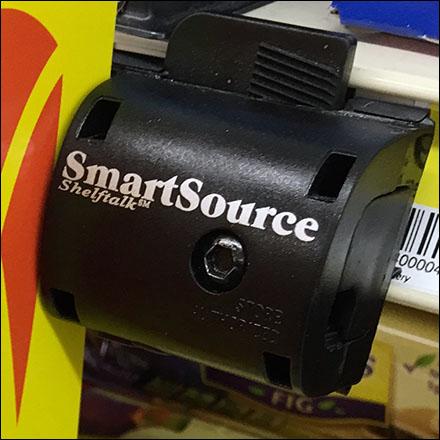 Smartsource Shelftalk C Channel Sign Holder Fixtures Close Up